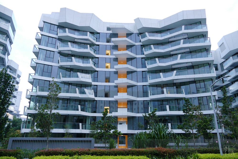 An Apartment Building from the Corals.