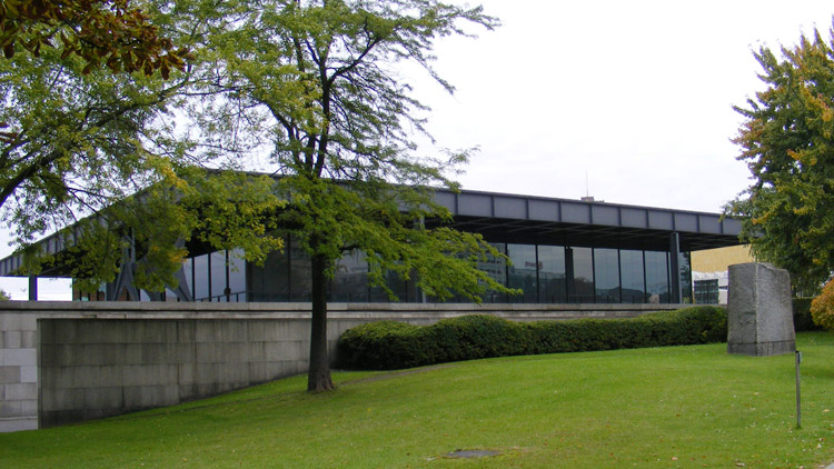 03 Neue National Galerie by Ludwig Mies van der Rohe.JPG