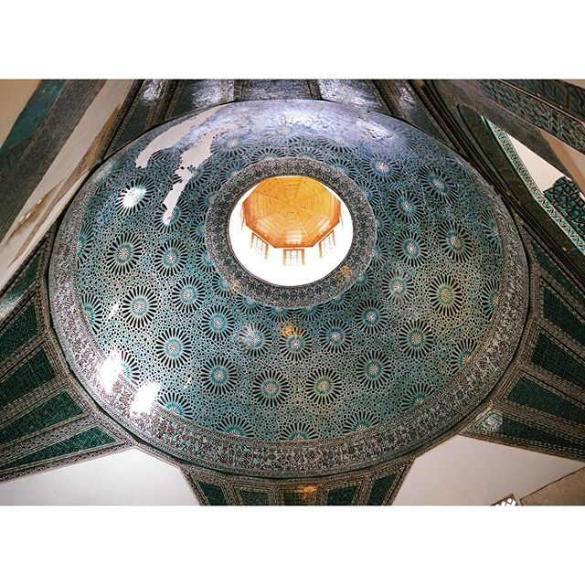 The dome of the Karatay Madrasa. 💡New video is online, link in bio.  ___ #karataymedresesi #karataymadrasa #madrasa #seljuk #seljuks #selçuklular #tarih #medrese #konya #mimari #kubbe #ışıklık #skylight #skylightdome #dome #turkish #turkishtriangle #ptk_architecture #icu_architecture #alperego_arch #alperego_blog #alperego #jj_architecture #ig_architecture #archdaily
