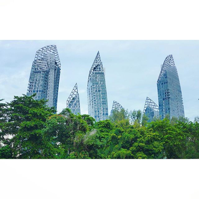 The Reflections at Keppel Bay by Libeskind Studio.  ___ #libeskind #libeskindarchitecture #daniellibeskind #keppelbay #highrise #skyscraping_magic #1_unlimited #wow_planet #rising #instaarch #arch_more #allofarchitecture #archistudents #skyscraping_architecture #skyscraping_minimal #tv_buildings #lookinguparchitecture #lookingupbuildings #lookingup_architecture #alperego #alperego_blog #alperego_arch #mimari #sustainabledesign #iconicarchitecture
