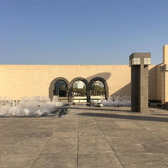 The Yard.  ___ #impei #masterpei #museums #archi_students #archdesigndaily #archdaily_qatar #archdaily_doha #mimari #masterpiece #architecture_best #architeture #1_unlimited #wow_planet #buildingswow #srs_buildings #architectanddesign #alperego #alperego_blog #alperego_arch #qatar_photo #dohainstagram #islamicart #islamicmuseum #dohaarchitecture #qatararchitecture #gezginler