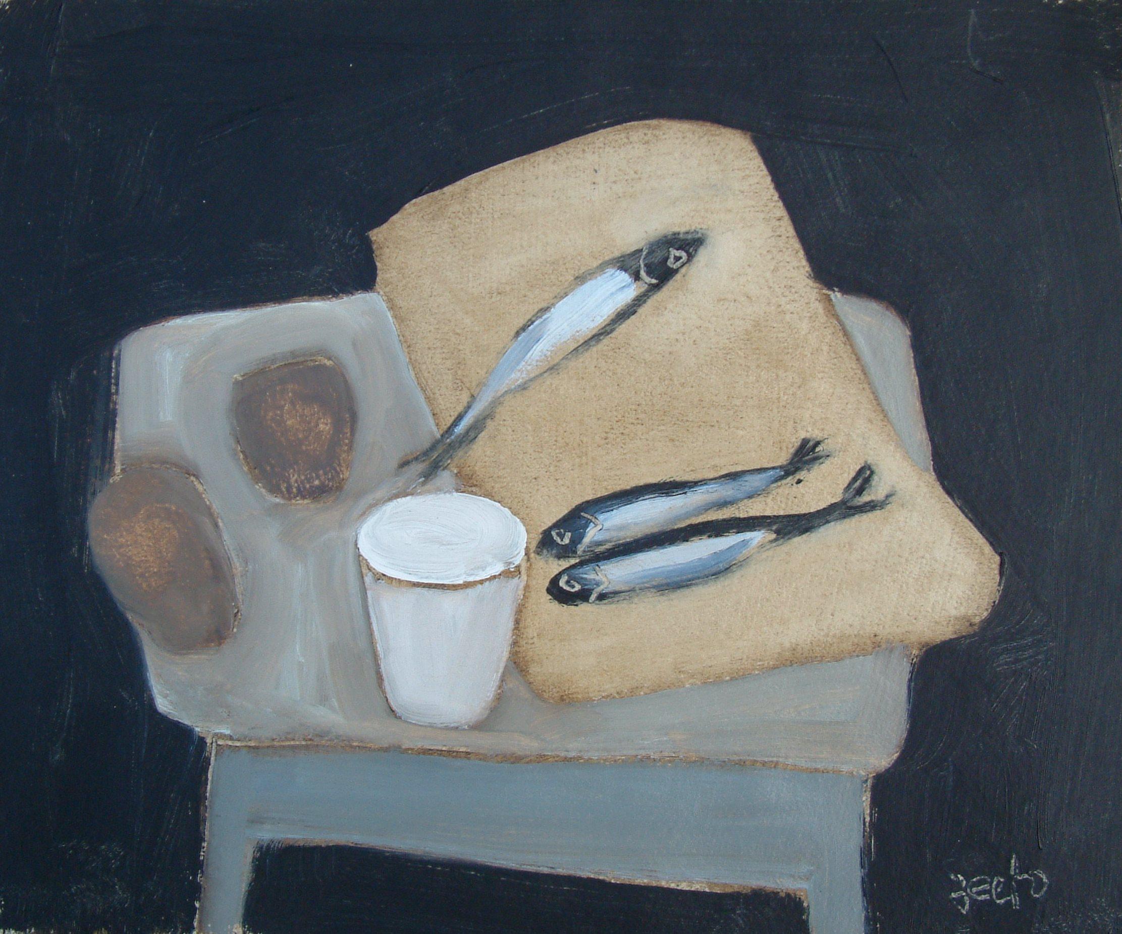 Sprats On Toast Oil