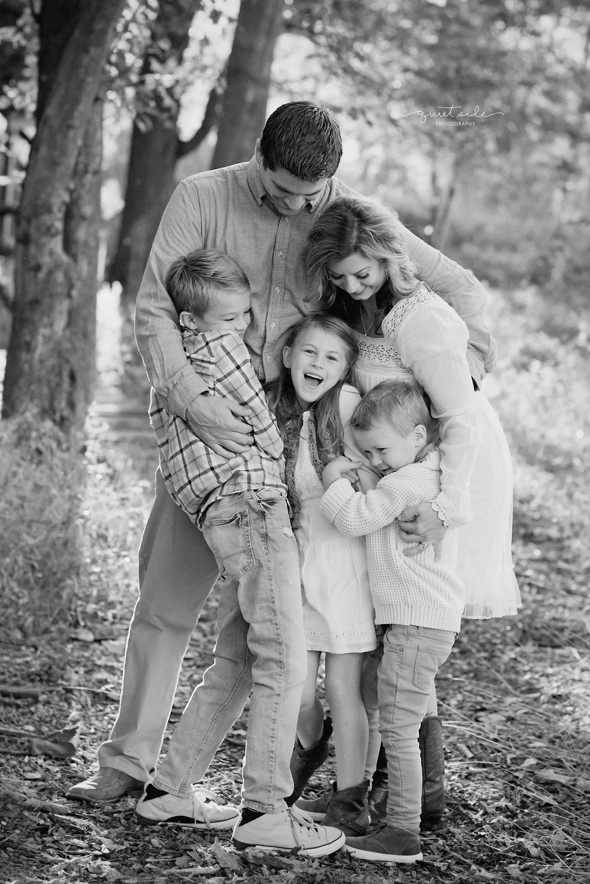QuietSidePhotography-Purcellville, VA- Family-Photographer-Motherhood-Familyof5-SilverbrookFarm-GoldenHour-Sunset-Family-blackandwhite-Loudoun County-Virginia-MIlesFamily.jpg