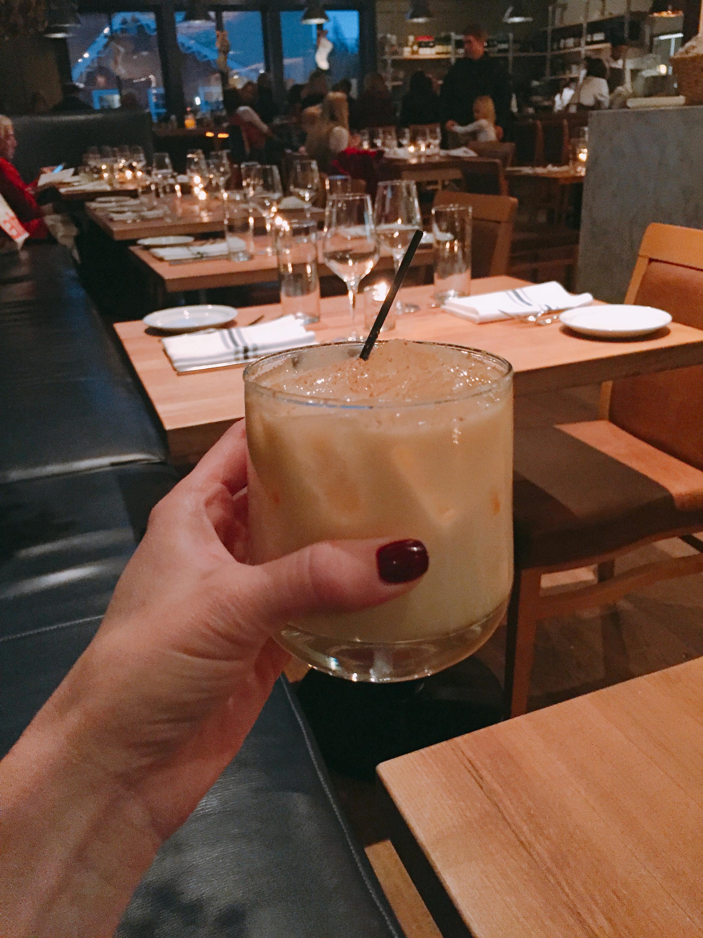 Mmmm... Christmas in a glass.
