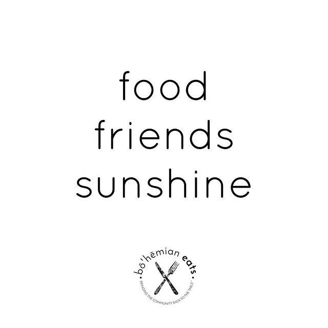 Yesterday was the first day of #Spring and this weekend should be beautiful!! Get out there and enjoy it, Atlanta! #BohemianEats #BohemianEatsQuotes #Atlanta #Georgia #Sun #Food #Friends