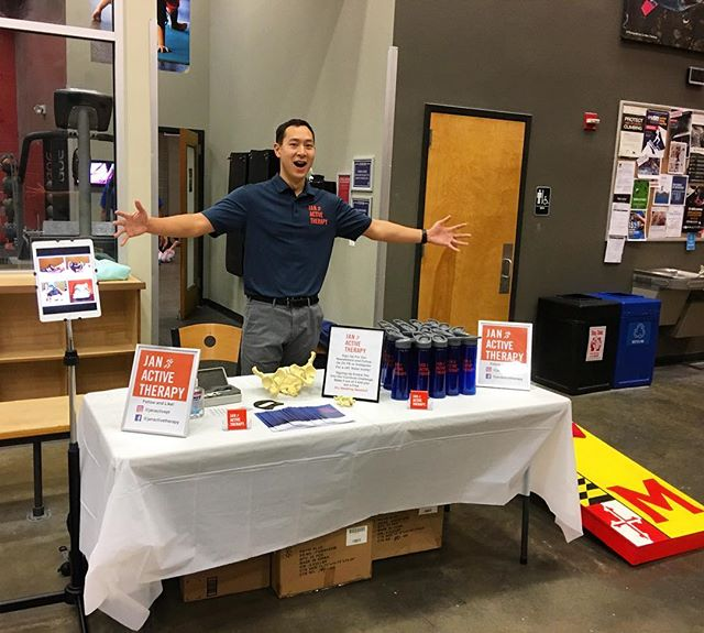 Come visit our BOOTH at @earthtreks Rockville! Corn hole, giveaways, raffles, food!! Let the games begin... #fun #sports  #climbing #promo #physicaltherapy #healthy #health #dpt #pt #injury #needling #muscle #gains #gym #acl #herniateddisc #hollistic #athlete #training