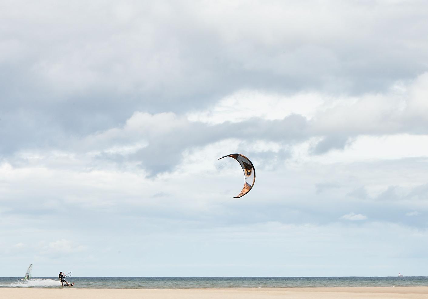 Kitesurf at one of many near by bays!