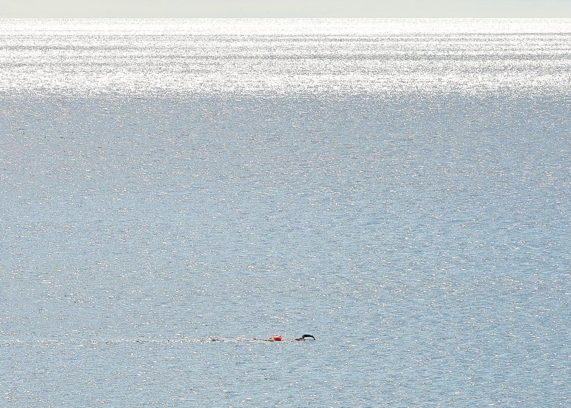 Swim in beautiful clear water