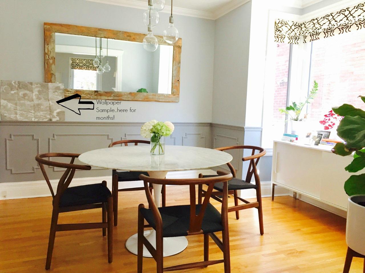 Dining Room...In transition