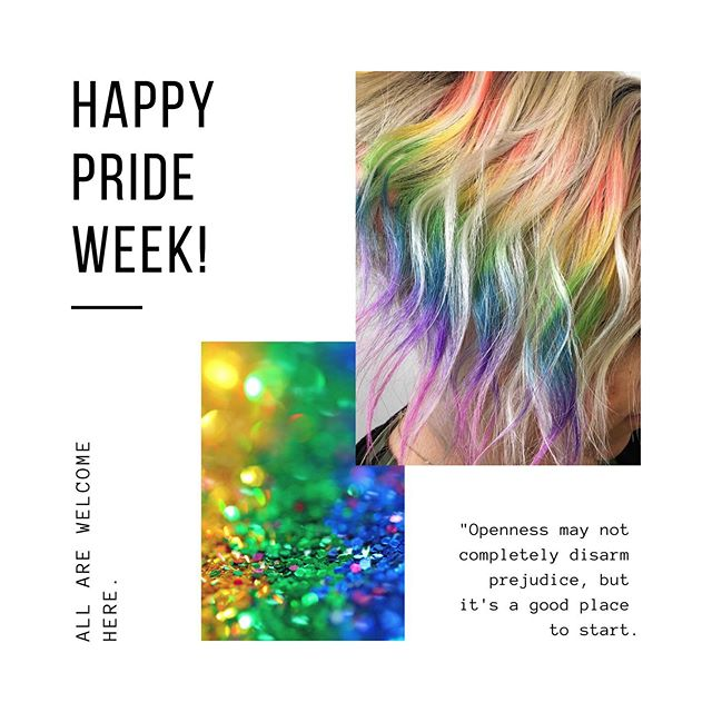 We hope you know in a world filled with ignorance, you've at least got a salon filled with acceptance & love. 🌈 Hair by: @jessicaannhair