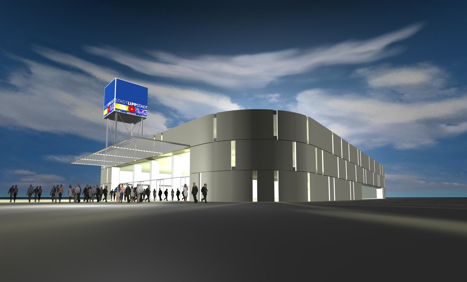 Stadthalle Lippstadt <strong>Lippstadt   Entwurf 2007</strong>