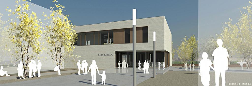 Mensa am Dusternweg<strong>Lippstadt | Wettbewerb 2013</strong>