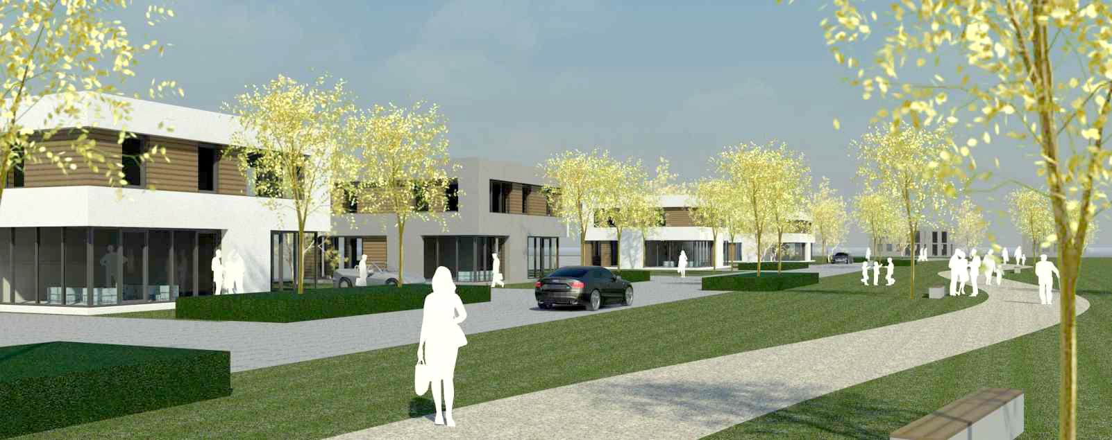 Wohnbebauung Lechtenweg<strong>Lippstadt | Entwurf 2013</strong>