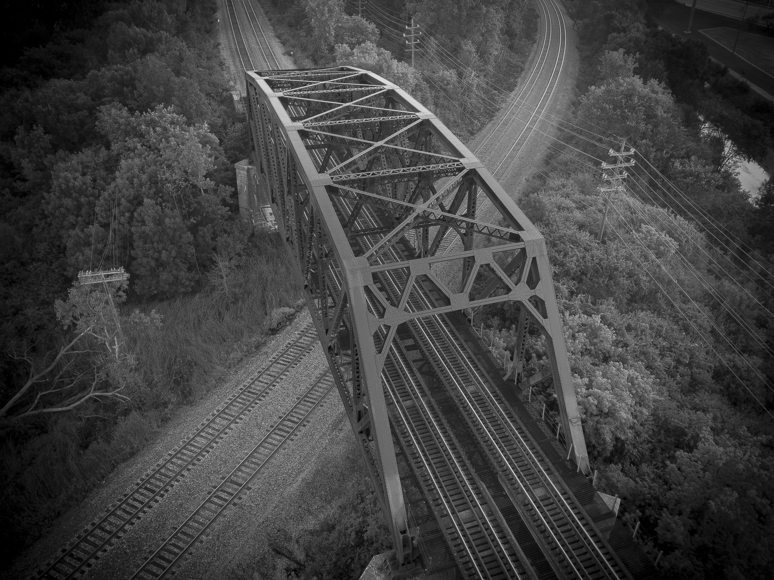 Train Bridge - Wauwatosa, WI