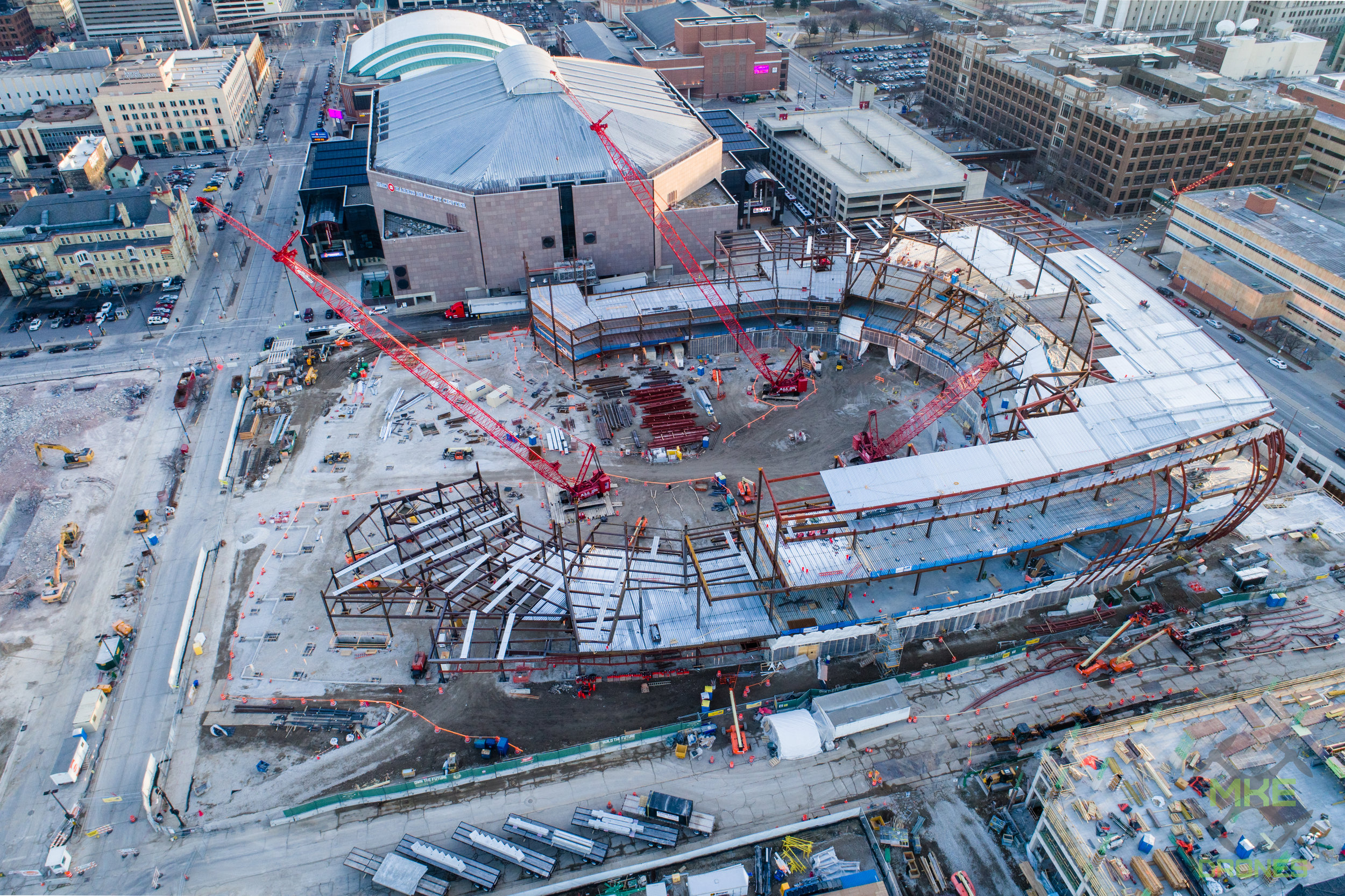 New Bucks Arena - Milwaukee, WI