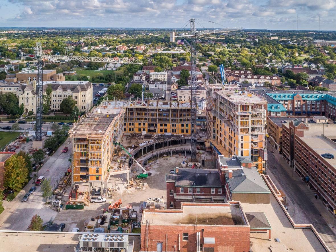 Construction Progress - Images that last longer than the construction