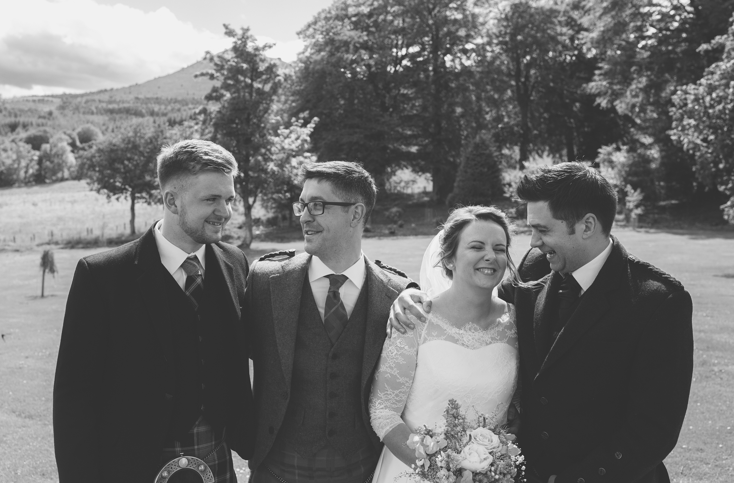 pittodrie house wedding, wedding photographers in Aberdeen