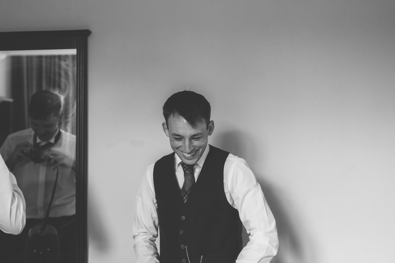 Vivienne Elizabeth Photography, Scottish wedding photographer, groom preparation, wedding photographers in Scotland, aswanley wedding venue, barn wedding venue scotland
