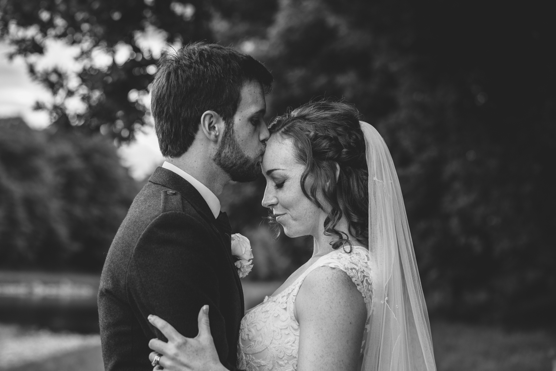 Banchory lodge, wedding photographer aberdeen, wedding photography Aberdeenshire, bride and groom, romantic wedding photography Scotland