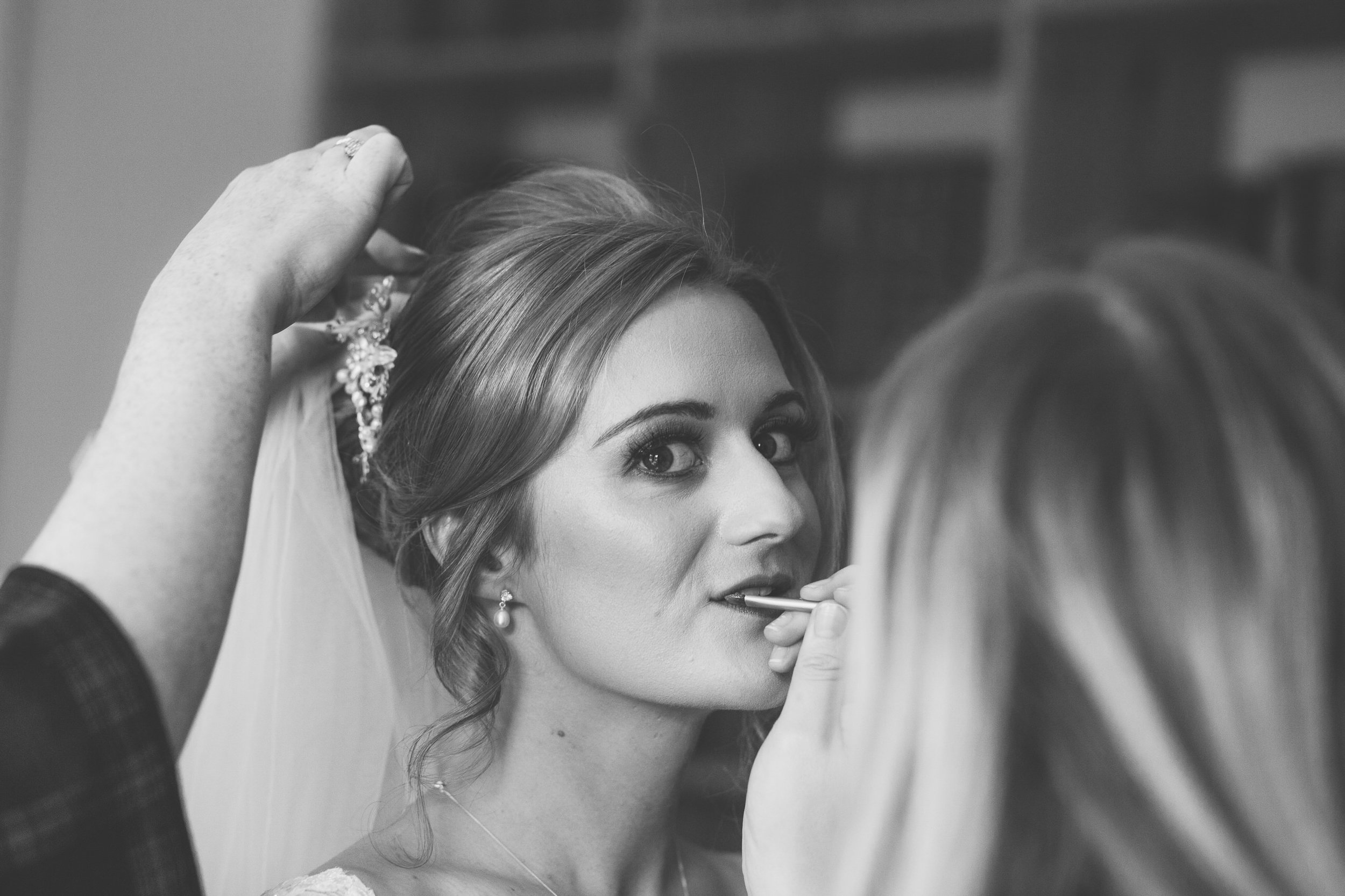 logie country house, Tiffany Dawson make up artist, hair by Marianne gibb, logie country house wedding