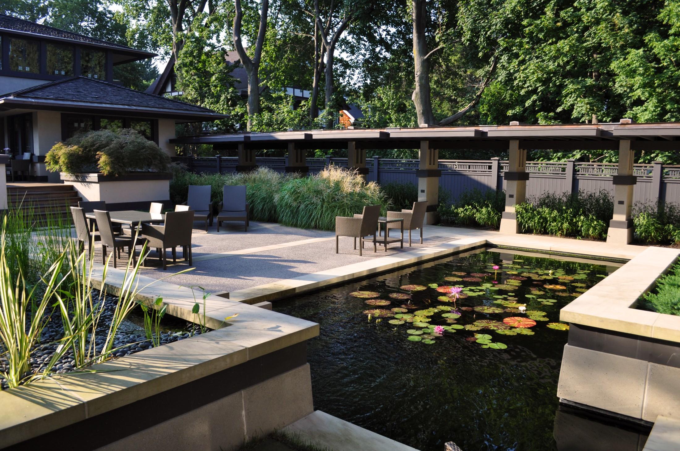 Frank Lloyd Wright's Boynton House   2014 AIA Rochester Award for Design Excellence  2013 NUY-ASLA Merit award, Historic Preservation