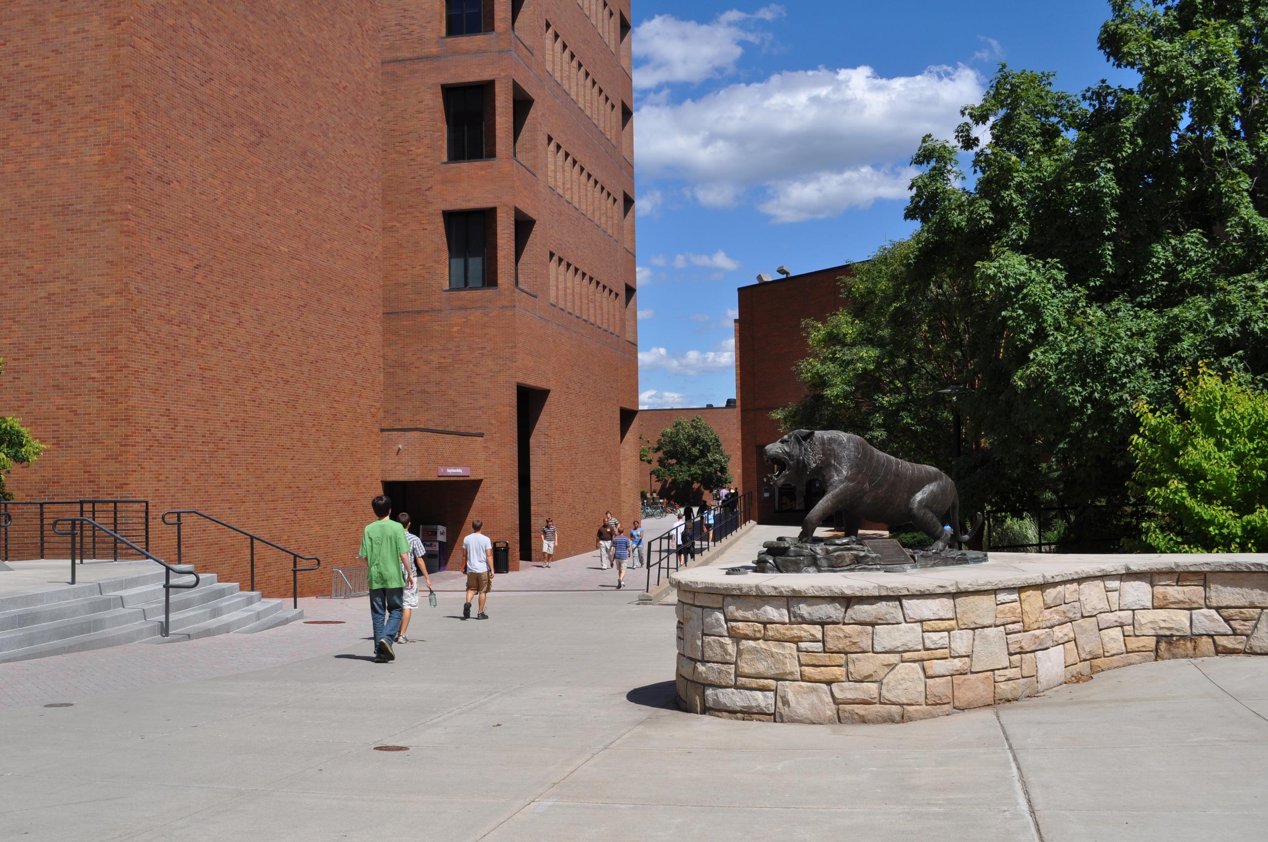 Tiger Courtyard