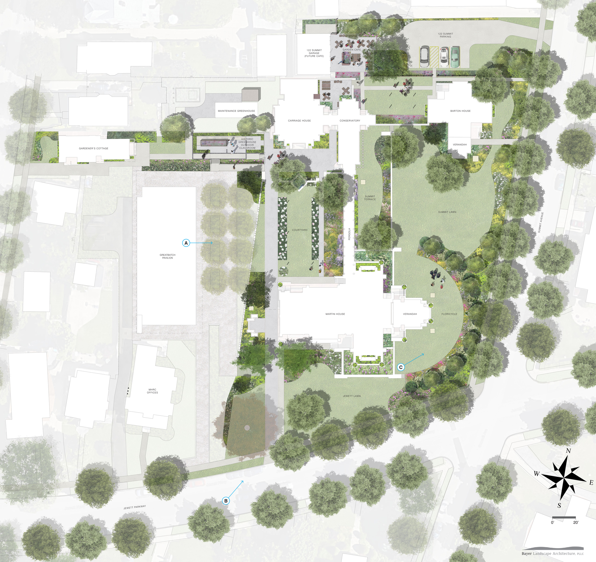 Commercial + Hospitality — Bayer Landscape Architecture, PLLC