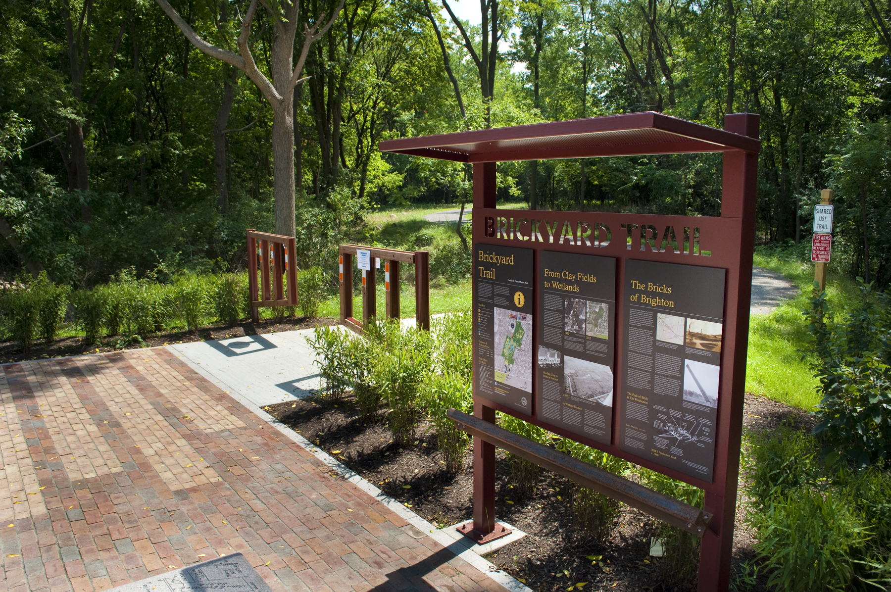 Sandra Frankel Nature Park /   Brickyard Trail