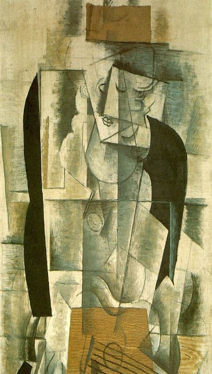"Braque's ""Guitar"" (1913)"