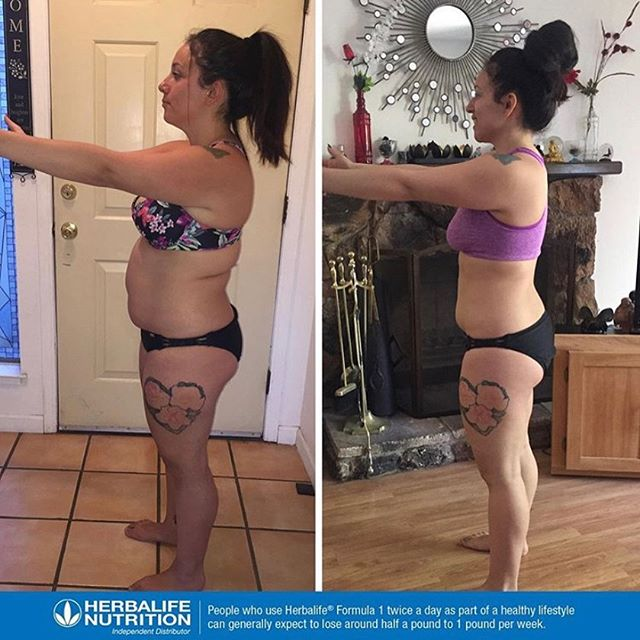 Stefanie is down over 15lbs since starting her Herbalife journey! 🌿 A complete shift in mindset in the way she eats, drinks, works out, and recovers has led to a complete body and mind transformation 💪🏼