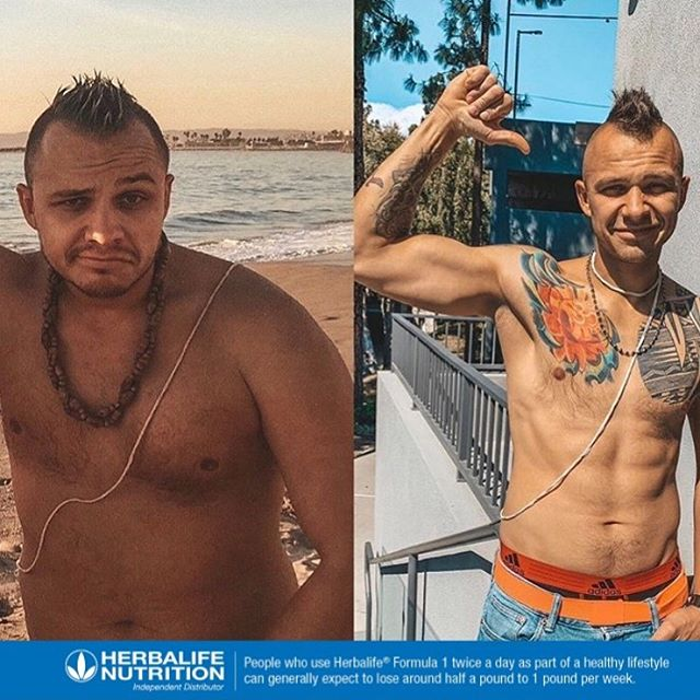 Vlad with the muscle RESULTS! Down 54lbs gone from soft to ripped! 💪🏼 Results did not come overnight, but instead from CONSISTENCY and HARD WORK 🔥