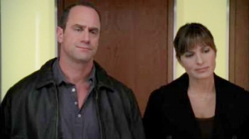 "Stabler: ""I'd give you my kidney."" Benson: ""It probably has a bullet hole in it."""