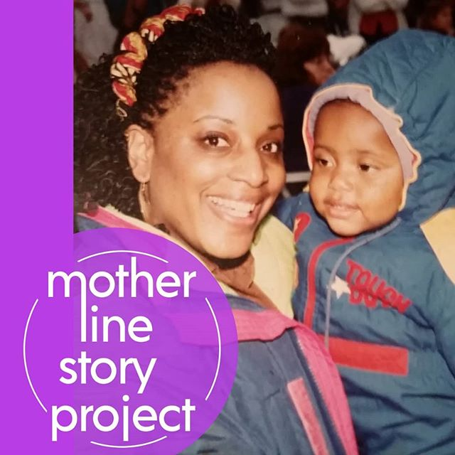 """Maybe I shouldn't have done it this way, but that doesn't mean you have to carry it that. Do you?"" #RutgersMotherLine #storyteller @i_got_kirb_appeal and her mom. Catch Kirby's #MotherLineStory May 5th at 8:30pm. Link in Bio."