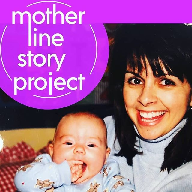 """There's a lot of life left and this is just the beginning."" #rutgersmotherline #storyteller @samantharthur and her mom. Catch Samantha's #MotherLineStory May 5th 8:30pm Link in Bio."