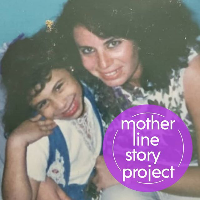 """She was right."" ✨✨✨ #RutgersMotherLine #storyteller @gloriacardonaactor and mama. Catch Gloria's story tonight at 8:30pm in Shindell Hall."
