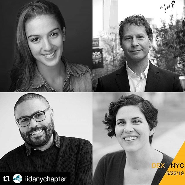 So excited for our own Executive Director Eliza Simpson to participate in #DEXNYC2019. Thank you to #iidany for inviting #TeamMotherLine Here's to a night of joyous idea exchange. #iidanydex  #iidanychapter #dexnyc2019 #designexchange #design #getinspired
