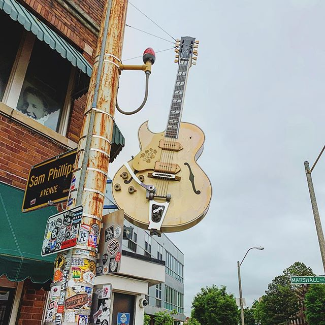 At @thelegendarysunstudio today in #memphis