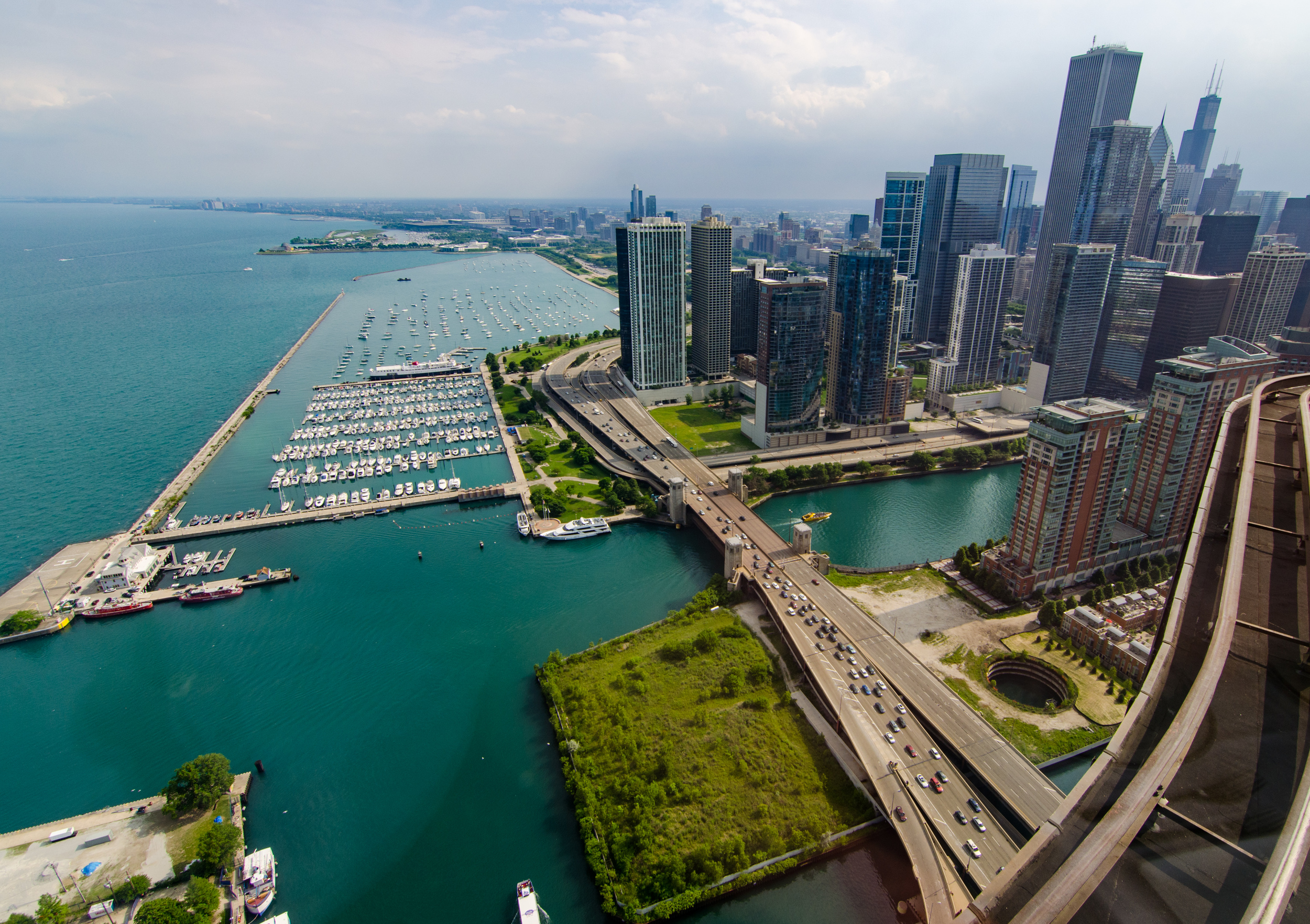 Mouth of the Chicago River
