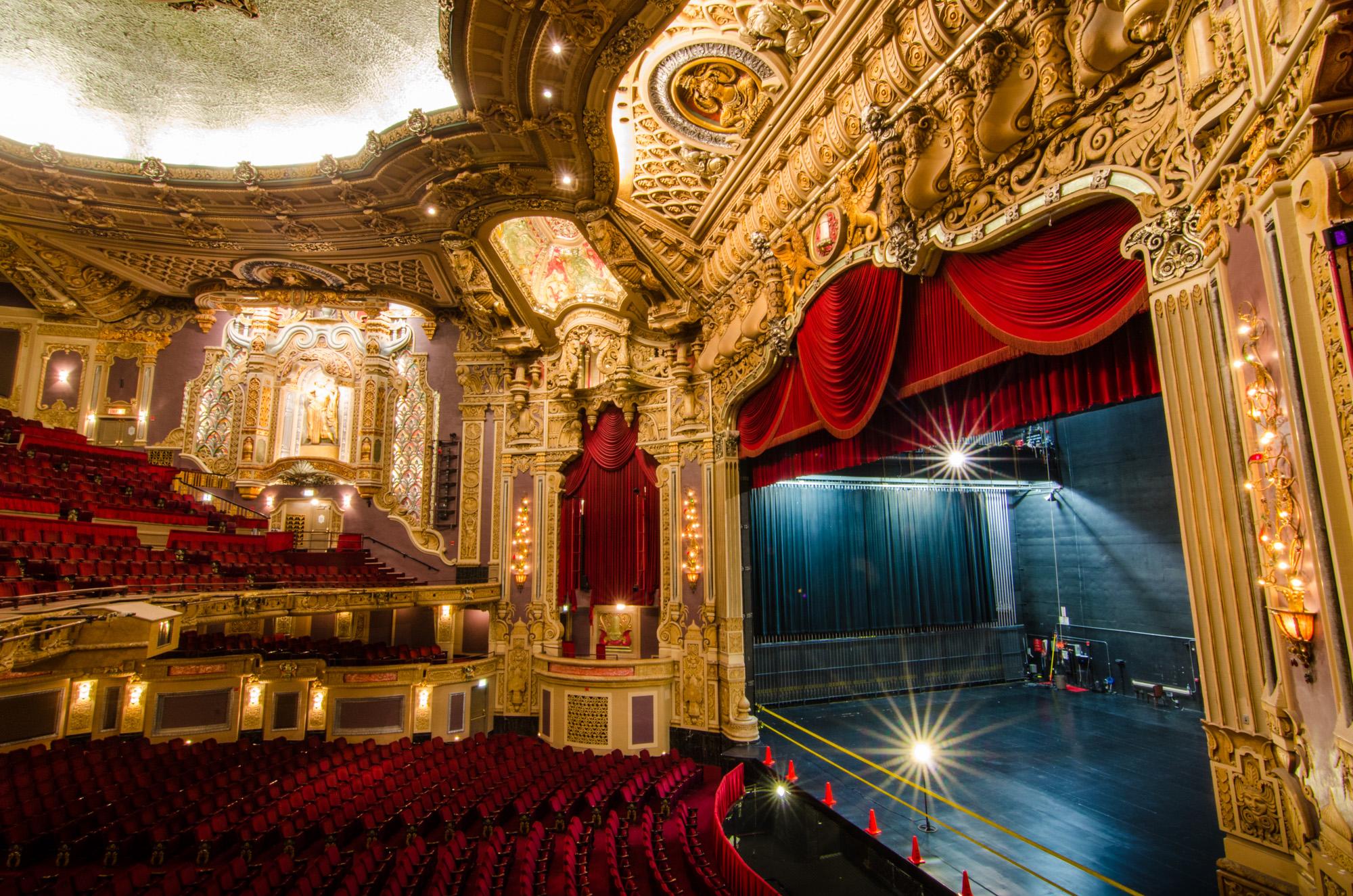 Broadway in Chicago's Oriental Theatre