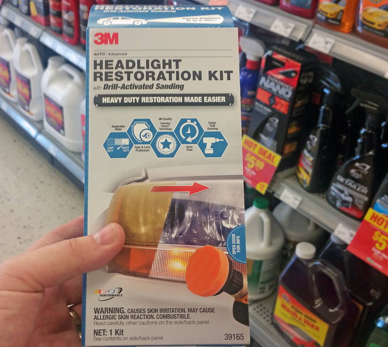 The 3M Headlight Restoration Kit