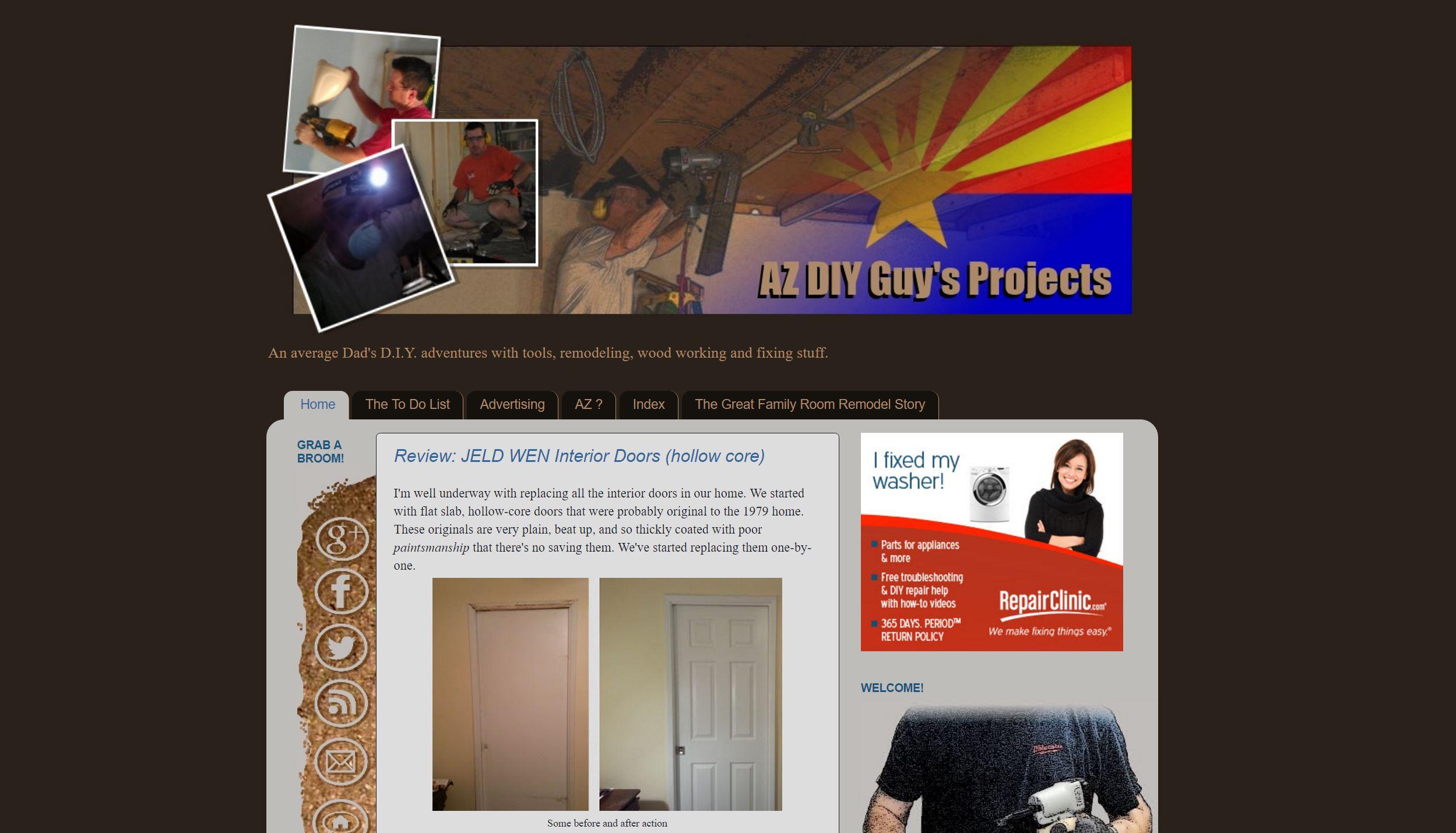 The original azdiyguy.com site