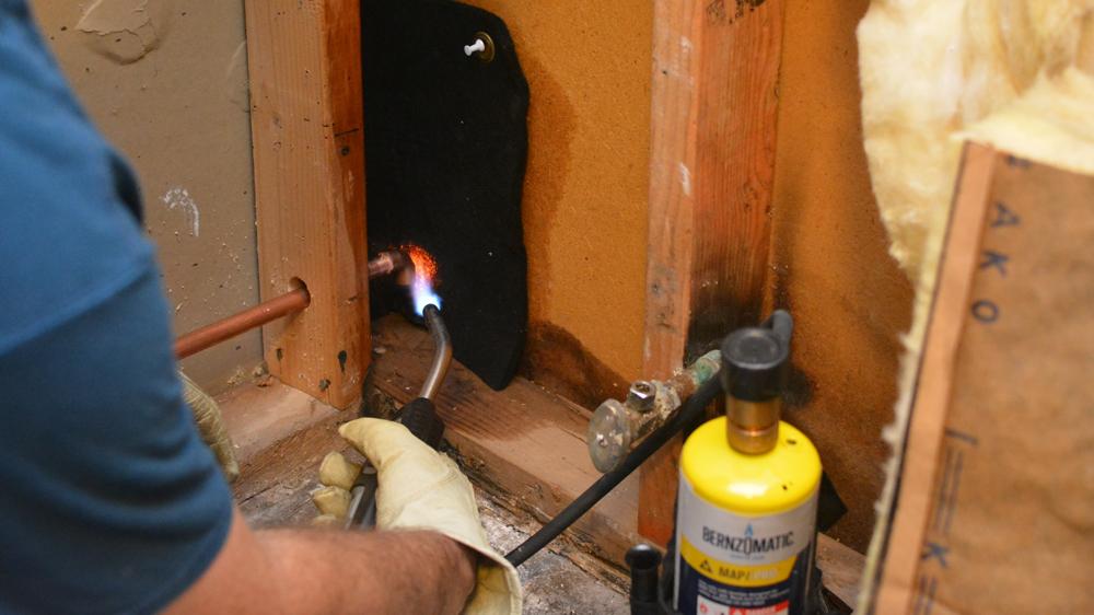Installing a Refrigerator Water Line — AZ DIY Guy