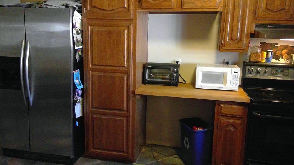 Installing An Over The Range Microwave