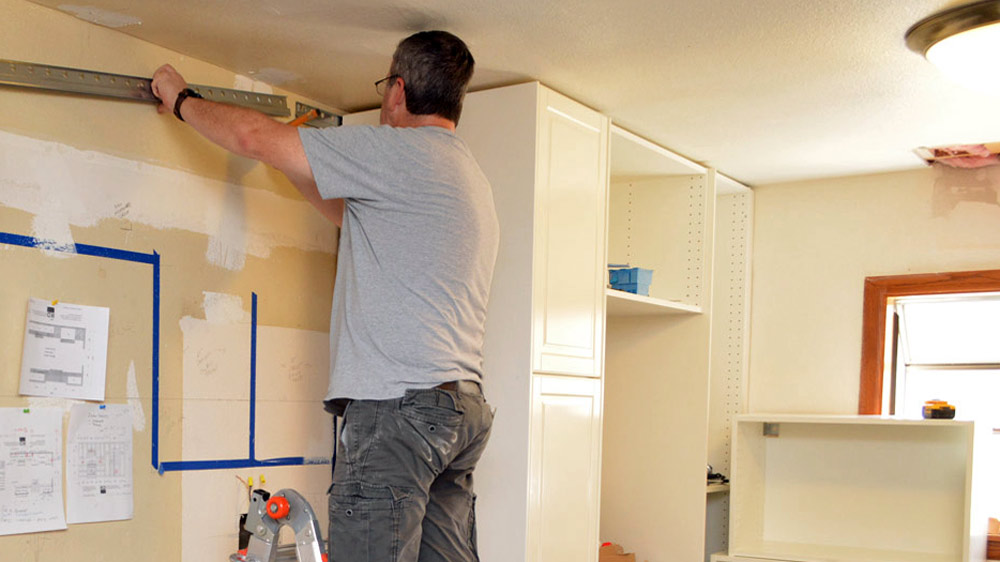12 Tips For Installing An Ikea Kitchen, Hanging Ikea Kitchen Wall Cabinets