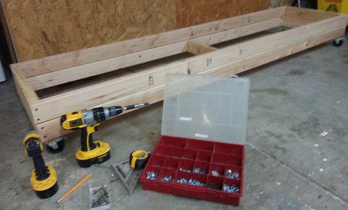 Building a Miter Saw Bench - Economical but Beefy! — AZ DIY Guy