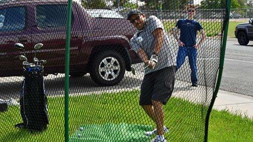How to Make A Golf Practice Net — AZ