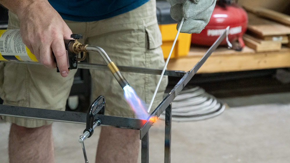 Brazing =  I don't have a fancy welding rig, but I still want to make cool metalwork projects
