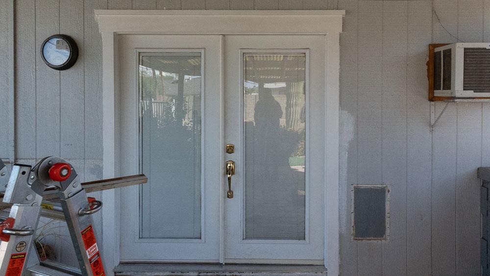 Craftsman Trim: Patio French Doors