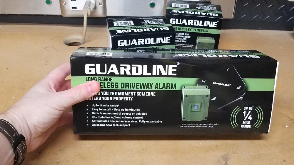 Guardline: Long Range Wireless Driveway Alarm