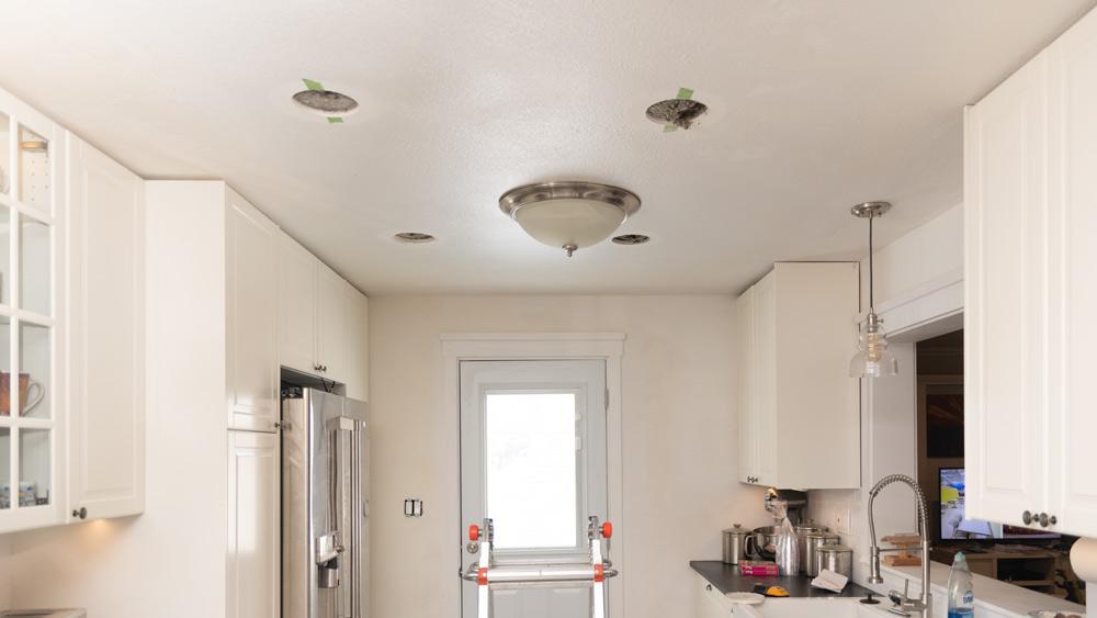 I'm afraid we've got ceiling gophers honey.